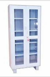 Glass Door Steel Cupboard