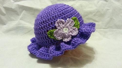 6ba11802e19 Handmade Crochet Baby Hat Cap Blue - Love Crochet Art