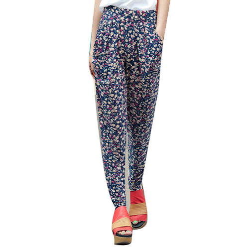 a9937455927448 Ladies Printed Pant at Rs 350 /piece | Todapur | Delhi | ID: 13336051462