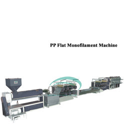 PP Flat Monofilament  Machine