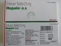 Hepalo-0.5  - Entecavir Tablet