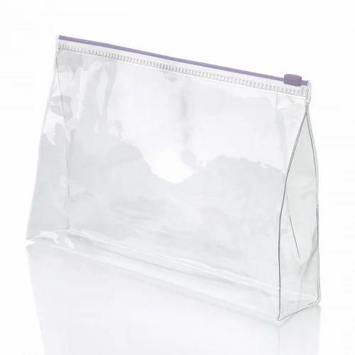 Plain Pvc Zip Lock Cover Polyvinyl Chloride Zipper Bag