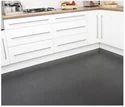 Black Matte Kitchen Rubber Flooring