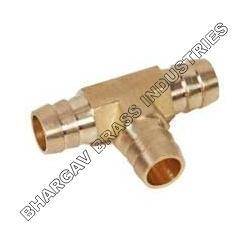 Brass Fittings Tee Male 3 Ways