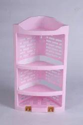 Pink Bathroom Plastic Corner
