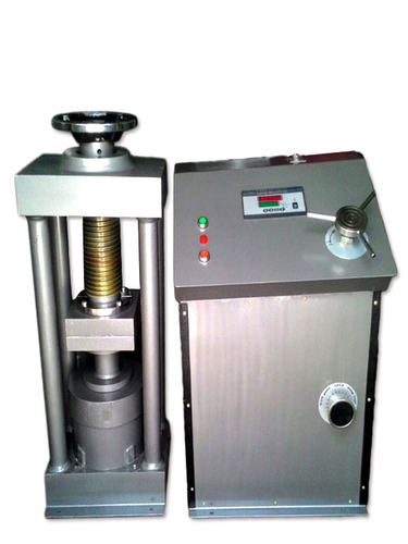 Manufacturer of Concrete Mould & Compression Testing Machine by
