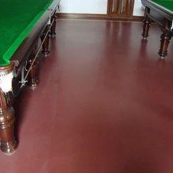 Asian Flooring Green Clubs Billiards Flooring