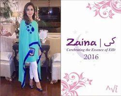 Pakistani Designer Semi Stitch Suit
