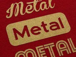 Golden Colour Fusing Label