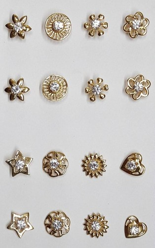Gold Cz Nose Pin Weight 200 To 400 Mg Rs 2000 Gram Arts N