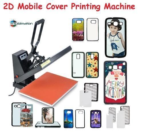 pretty nice 2ebab 4130c 2d Mobile Pouches Printing Machine Smart Phone Cover Print