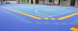 Green Kids Playground Rubber Flooring