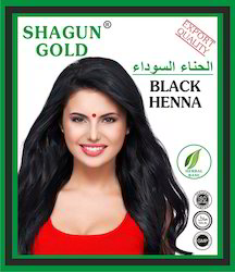 Shagun Gold Black Henna Hair Dye Powder