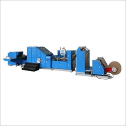 Roll Fed Paper Bag Making Machine