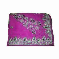 Embroidered Border Saree