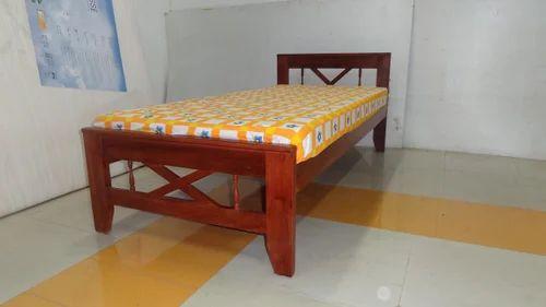 Teak Wood Single Cot 3ft At Rs 9750 Number Teak Bed Id