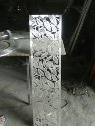 Steel Laser Grill