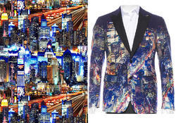 Digital Printing For Blazer Fabrics