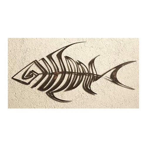 Marvelous Shine Customize Metal Fish Wall Art