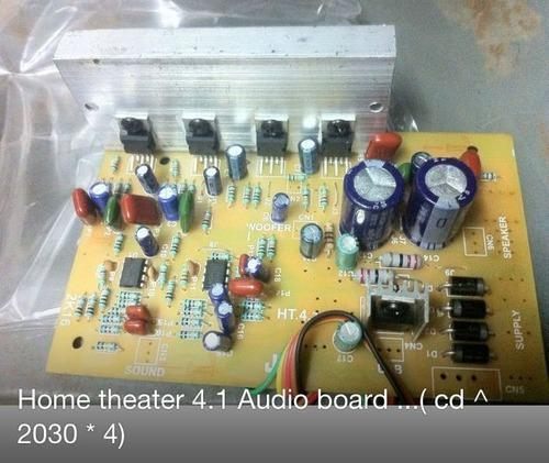 Audio Circuit Board For 4 1 Home Theater System At Rs 170 Piece Gandhi Nagar New Delhi Id 14063855162