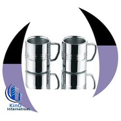 Cappucino Stainless Steel Mugs