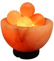Naturo Rock Salt Firebowl With Massage Balls