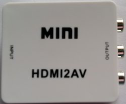 HDMI to AV Convertor