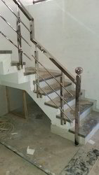 Bar Silver Stainless Steel Railing
