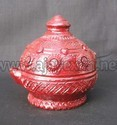 Decorative Clay Oil Lamps