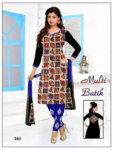 fd8fc86dea2 Cotton Normal Salwar Wax Batik Print Dress Material