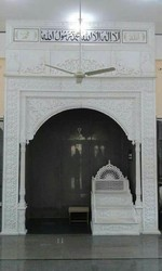 White Polished Marble Qibla