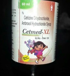 Cetrizine Dihydrochloride Ambroxol Hydrochloride Syrup