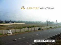 Concrete Folding Boundary Wall