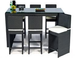 Rattan Outdoor Bar Furniture
