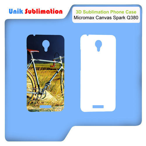 online store 9cda2 aaf0b 3d Sublimation Mobile Cover Micromax Canvas Spark Q380