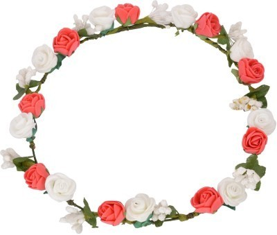 Red and white flower tiara crown vs associates jaipur id red and white flower tiara crown mightylinksfo