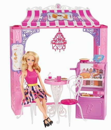 Barbie Malibu Ave Bakery And Doll Siddhi Vinayak Toys World