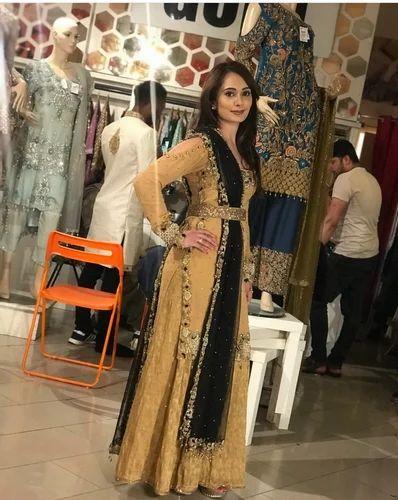 6ca75d201 Georgette Semi-Stitched Exclusive Party Wear Pakistani Suit, Rs 2395 ...