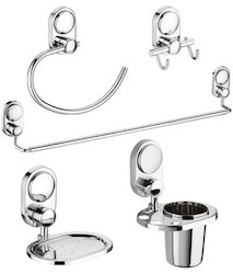 5 Pieces Bathroom Accessories Set (Shadow Series)