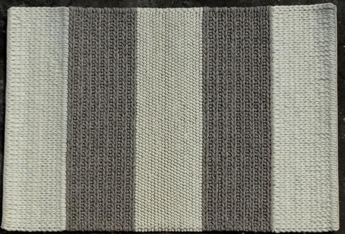 Braided Wool Rug Size 120x180cm