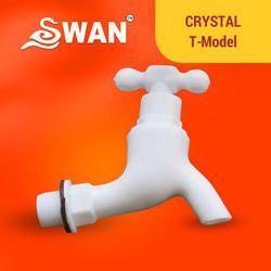 PVC Water Tap(Cristal' Model White)