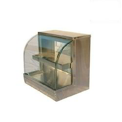 Hot Case Curved Glass Display Counter