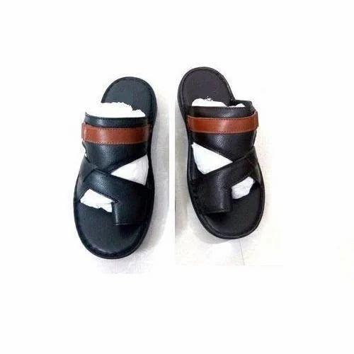 eca678cc53e4 Men s Leather Sandal at Rs 750  pair(s)