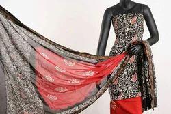 Chiffon Regular Wear Dress Material