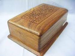 Brown GHF Retail Sheesham Wood Box