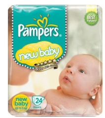 Pampers New Born Baby S