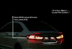 New Honda City Tail Light