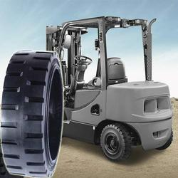 Forklift Solid Press- On Tyres
