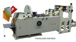 Hi- Speed Paper Bags Making Machine With Two Color