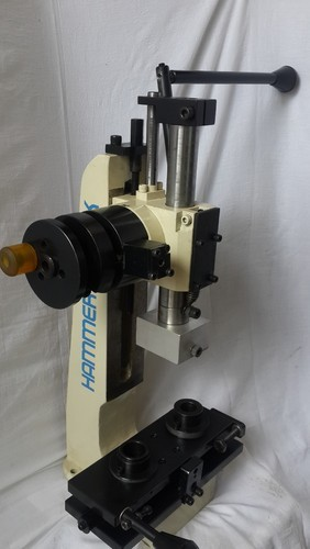 Rack And Pinion >> Precise Rack And Pinion Press With Return Lock Mechanism - Hammer Knock Pressotechnologies (I ...